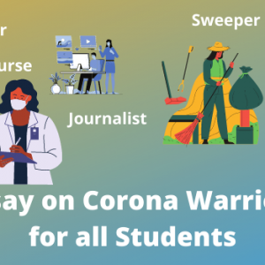 Essay on Corona Warriors